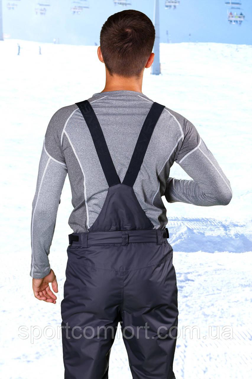 Брюки лыжные мужские темно-серые