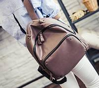 Рюкзак кожзам женский городской Андриана Уценка, фото 1