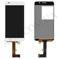 Дисплей (LCD) Huawei Honor 6 H60- L02 с сенсором белый