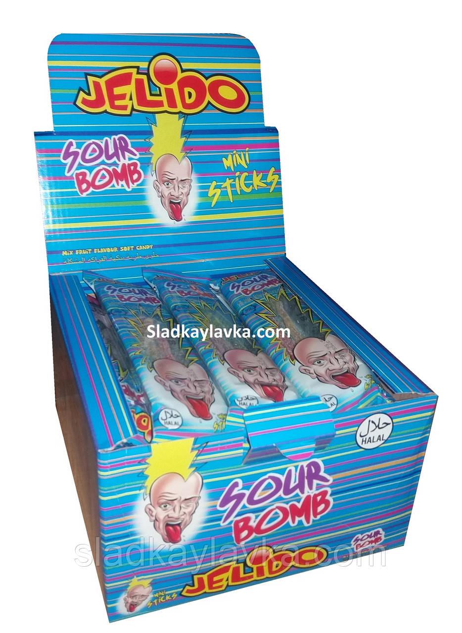 Желейные конфеты Liquorice Jelido Sour Bomb 24 шт (Kervan)