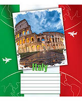 Общая тетрадь 48 листов Мрії Збуваються линия 2016л green Города и страны (TA5.4821.2016l)