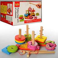Деревянная игрушка Геометрика MD 0902