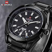Классические мужские часы Naviforce 9038, Гарантия. Класичний годинник