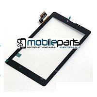 """Оригинальный Сенсор (Тачскрин) для планшета 7"""" Beeline Tab (186*107 мм,36 pin) (Черный-Самоклейка)"""