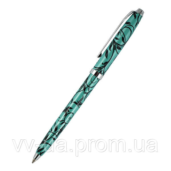 Ручка шариковая Axent Unique, бирюзовая (AGP1253-02-А)