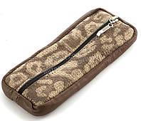Стильная кожаная ключница с натуральной кожи ручной работы art.  (101512)