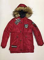 Зимняя куртка для мальчиков 4-10 лет