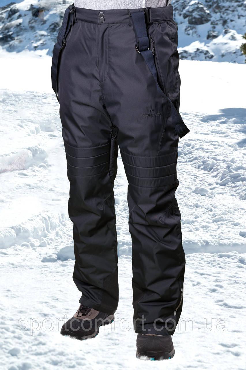 Брюки лыжные мужские серые