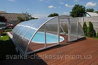 Накрытие для бассейна из поликарбоната (10 фото)