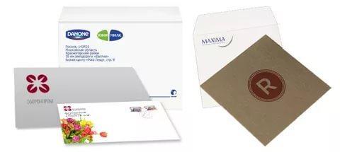 Напечатать конверт онлайн