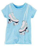 Футболка Carters для девочки 4-8 лет Rollerskate