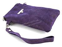 Удобный кожаный чехол-футляр с кармашком для телефона на молнии ручная работа big  (101122)