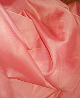 Шифон однотонный  (капрон ,занавес,гардина,тюль) Цвет: помадка