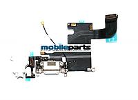 Оригинальный Разъем Зарядки со Шлейфом HF (charge connector with hands free) для iPhone 6 (белый)