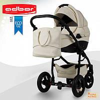 Детская коляска 3 в 1  ADBOR NEMO Exclusive Eco-02 ( эко-кожа )