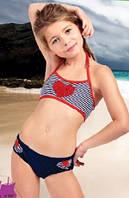 Детский раздельный купальник Della Esmeralda 116 (5) Синий