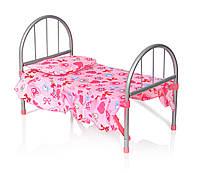 Кроватка для кукол с балдахином (9342 / WS 2772)