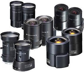 Объективы для видеокамер