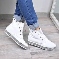 Ботинки женские Stars белые 3661