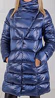 Зимние стеганые пальто-пуховики