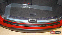 Накладка на задний бампер Nissan Qashqai J10 Mk1 полиуретановая