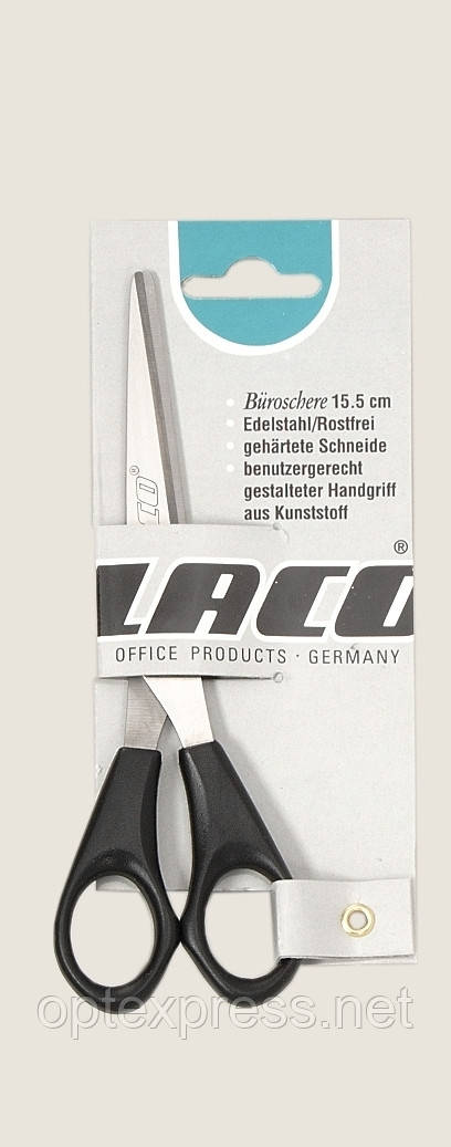 "Ножницы ""Офис S801"" 15,5 см LACO (Германия)"