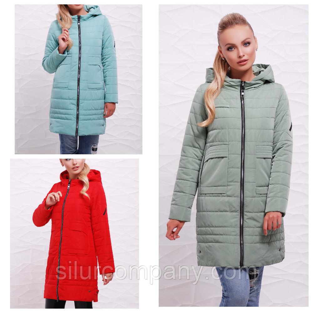 ba8ac80a3066 Женская удлиненная куртка осень-весна - Интернет магазин
