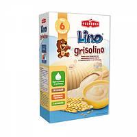 Безмолочная каша Lino Grisolino манная с ванилью, 200 г