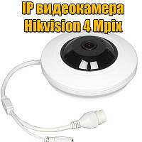 FishEye IP-камера с ИК-подсветкой Hikvision DS-2CD2942F-IS, 4 Mpix