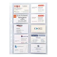 Файл Axent для 20 визиток, 70 мкм, 10 шт.