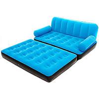Надувной диван трансформер Bestway 67356 с насосом 220V, фото 2