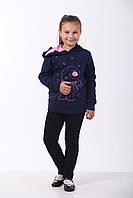 Толстовка для девочки, Снеговик, фото 1