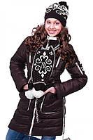 Детская куртка цвета шоколад