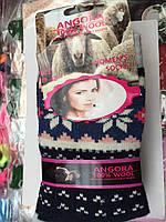 Яркие женские носки ангора