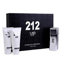 Подарочный набор для мужчин Carolina Herrera 212 VIP Men