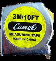 "Рулетка ""Camel"" металевий корпус, 3,0 м"