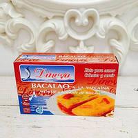 Рыба Треска в соусе BACALAO a la vizcaina Morue a la mode de Biscaye TM Dinova