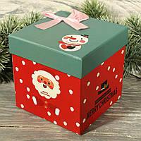 Новогодняя подарочная коробка 10401-01