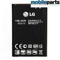 Оригинальная аккумулятор (АКБ, Батарея) LG BL-44JN  для LG X135, X145, L60, P970, L3, L5 1540 mAh