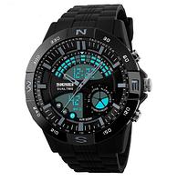 Часы водонепроницаемые спортивные в коробке Skmei Box Black 1110