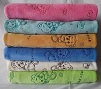 Набор полотенец для рук микрофибра с принтом