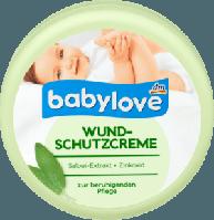Защитный крем Babylove Wundschutzcreme с экстрактом шалфея 150 ml.