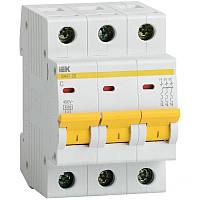 Автоматический выключатель BA47-29 3P 20А 4,5кА х-ка С IEK