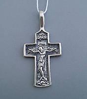 Серебряный крест христианский Арт.БР-0044931