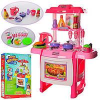 Детская  Кухня WD-A22-B22 -2 вида, плита, духовка, посуда, продукты, муз., звук, свет., на батар.,