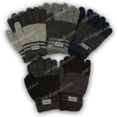 Перчатки для мальчика с подкладкой, 102-18