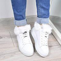 Кроссовки женские Gass белые легкая зима