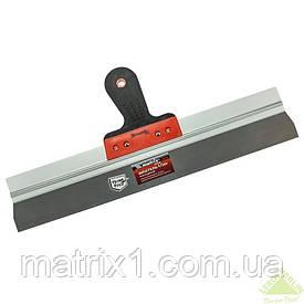 Шпатель фасадный из нержавеющей стали, 475 мм, 2-комп. ручка// MTX Польша