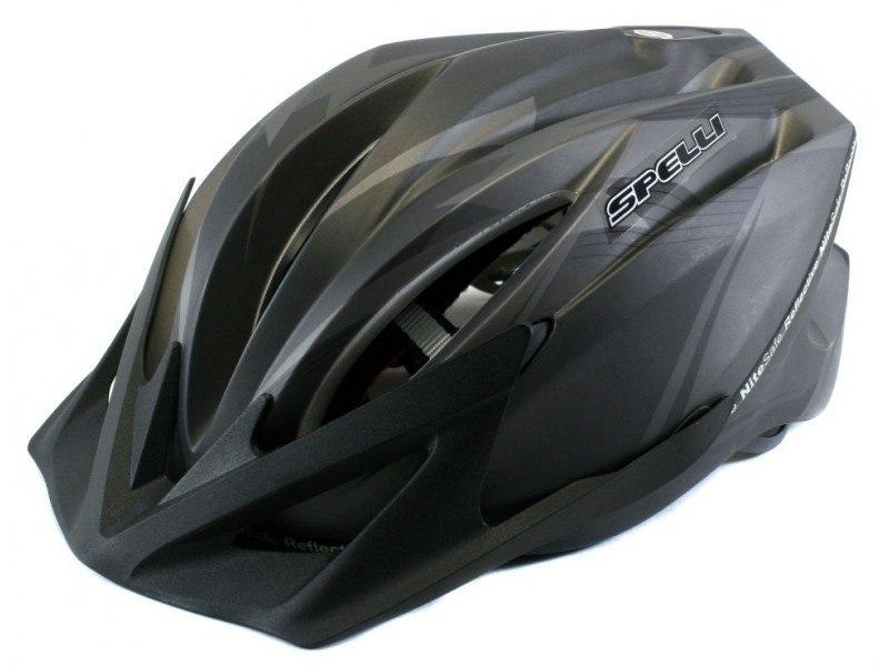 Велосипедный шлем SPELLI SBH-4000 черный