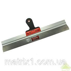 Шпатель фасадный из нержавеющей стали, 600 мм, 2-комп. ручка// MTX